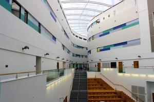 Inside RGU Riverside East Building