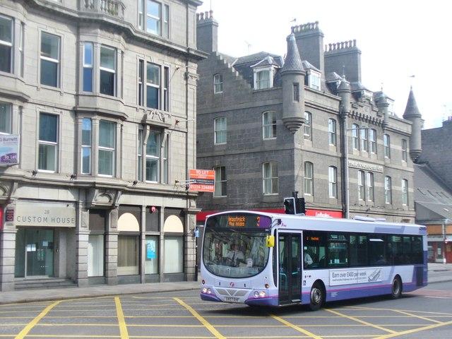 First Bus Service Aberdeen