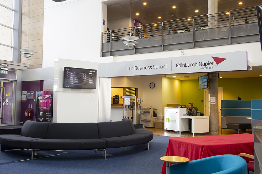 Edinburgh Napier University Business School